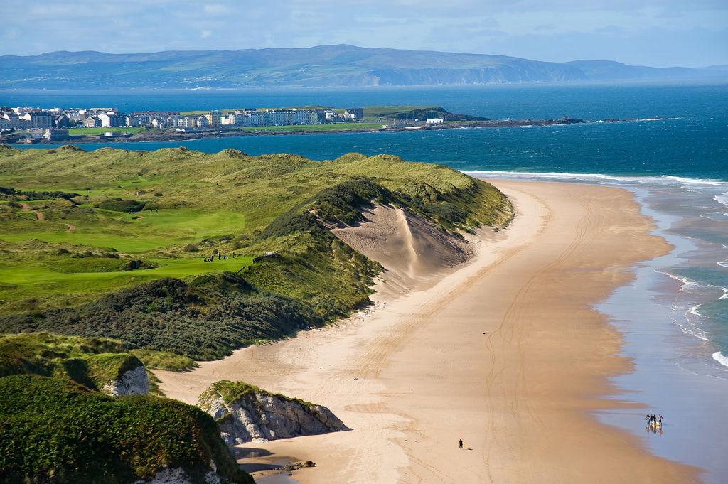 Antrim coastline