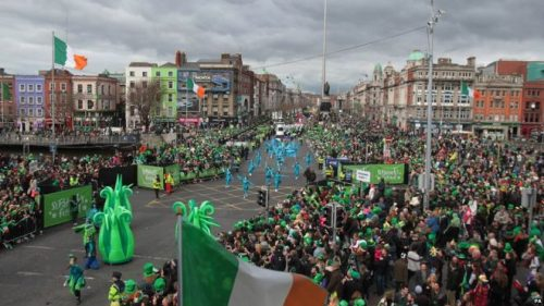 St. Patrick's Weekend in Dublin