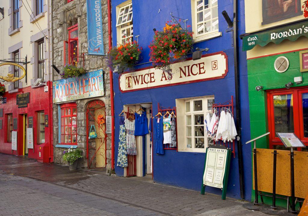 Shop Street Galway Ireland