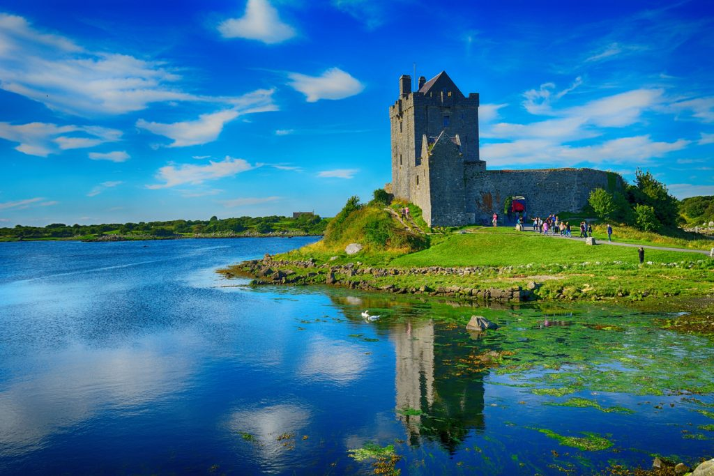 Castle, Dunguaire, Ireland